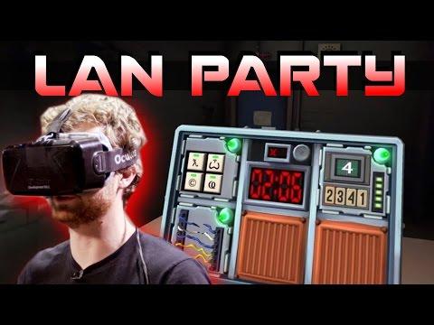 VR BOMB DEFUSAL - Keep Talking and Nobody Explodes