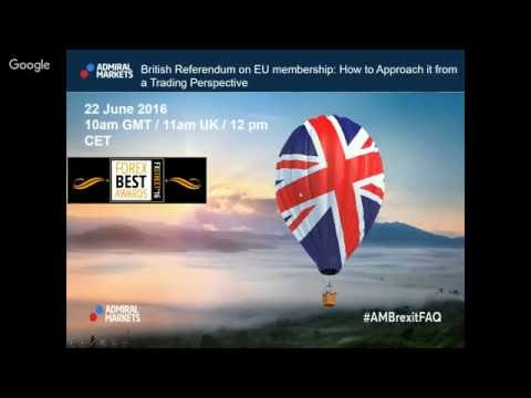 British Referendum on EU membership: How to Approach it from a Trading Perspective