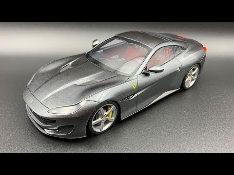 Alpha Model: Ferrari Portofino Full Build Step by Step