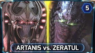 Starcraft 2 ► Legacy of the Void In-Game Cinematic [HD] - Zeratul vs. Artanis Fight (LOTV)