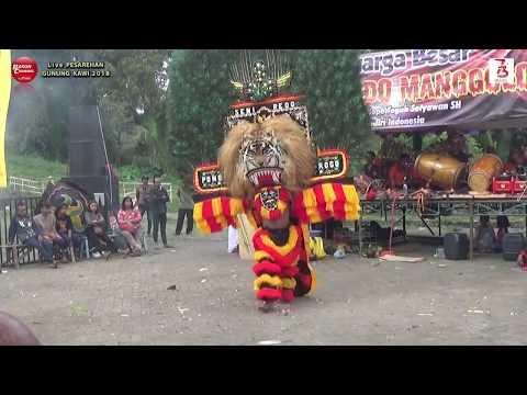 REOG & Bujangganong New SABDO MANGGOLO Live Pesarehan Gunung KAWI 2018