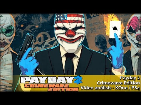 Payday 2 Crimewave Edition | Análisis español GameProTV