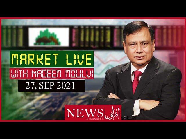 Market Live with Host Nadeem Moulvi, 27 Septemper 2021