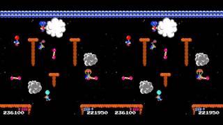 Vs. Balloon Fight arcade 2 player 60fps