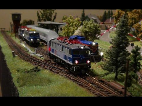Pociągi PKP Intercity – manewry, jazda, trzy siódemki i stonka