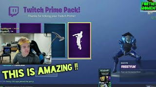 NINJA REACTS TO THE *NEW* FREESTYLIN' EMOTE/DANCE !! best fortnite funny moments