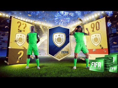 WE PACK 90 RATED GULLIT!! | 2 ICONS PACKED | MASSIVE FIFA 18 PACK OPENING | FIFA 18 ULTIMATE TEAM