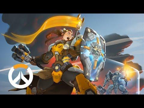 [NEW HERO – NOW AVAILABLE] Brigitte Origin Story | Overwatch