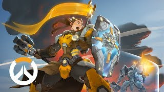 [NEW HERO - NOW AVAILABLE] Brigitte Origin Story | Overwatch