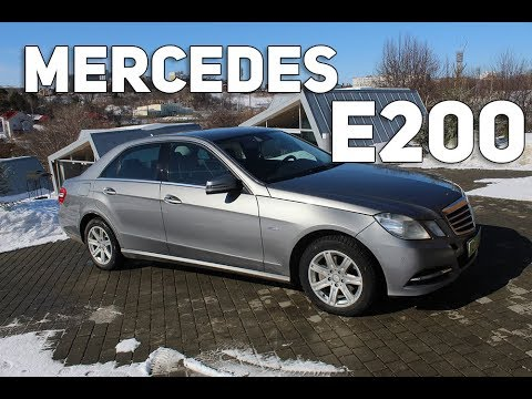 Обзор и тест-драйв автомобиля Мерседес Е200 W212. 2012 г. Характеристики Mercedes-benz E200