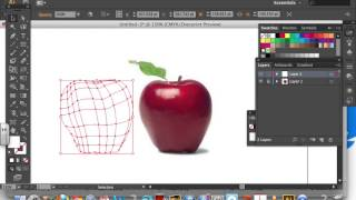 Adobe Illustrator: Using the mesh tool (Creating an apple)(, 2013-08-24T02:30:22.000Z)
