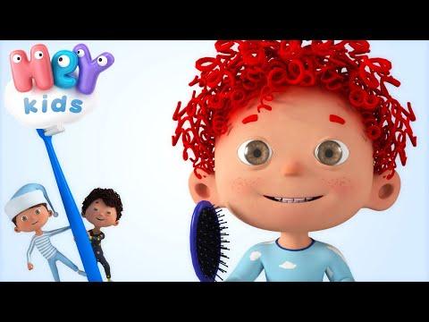 È Ora Di Alzarsi ! 🌞 Canzoni per babmini - Lavare i denti cartoni animati