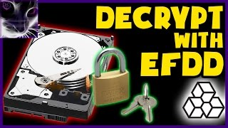 How to Access Encrypted Drive using EFDD (without password)