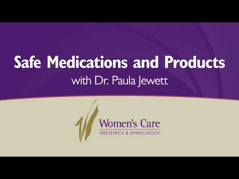 Safe medications and products to take while pregnant