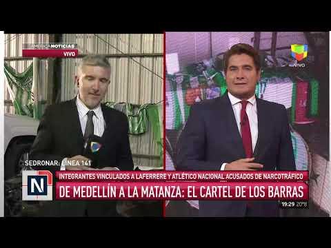 Barras de Atlético Nacional y Laferrere acusados de narcotráfico