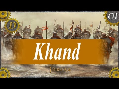 E1 DaC 2.1 Khand Campaign | Opening Strategy - Third Age Total War, Divide and Conquer 2.1