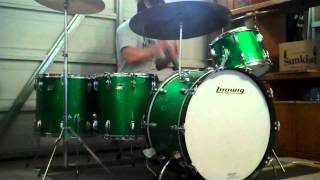 Led Zeppelin - When The Levee Breaks (Drum Cover) - 1970