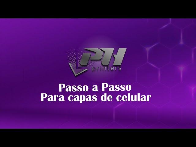 Passo a passo de utilização gabarito de capas de celular - Impressora UV LED PH Flex - PH Printers