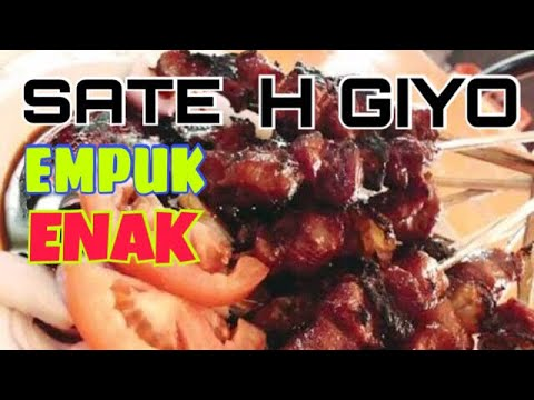 Sate Haji Giyo Kuliner Legendaris Cipinang Jakarta Timur Youtube