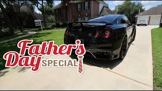 FATHER'S DAY SPECIAL! TAKING DAD'S IN A 700 HP GTR!