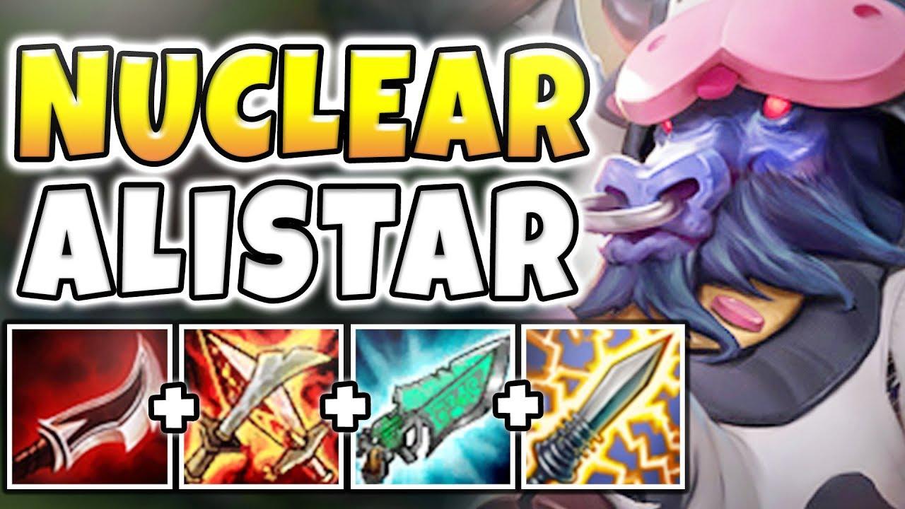NUCLEAR ONE-SHOT ALISTAR MID! THE MOST BROKEN GOD-TIER ASSASSIN! League of  legends