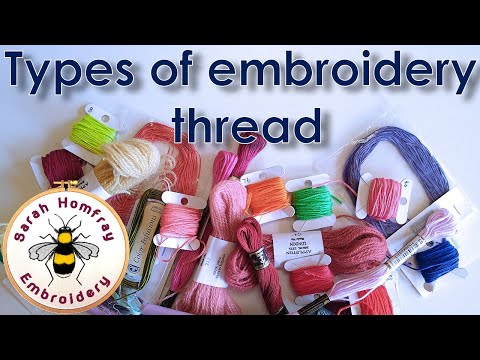 Handling Embroidery Threads