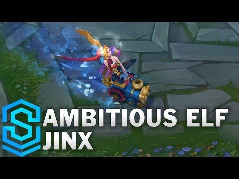Ambitious Elf Jinx Skin Spotlight - League of Legends