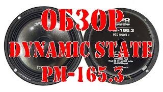 Обзор автомобильных среднечастотных динамиков Dynamic State PM 165 3
