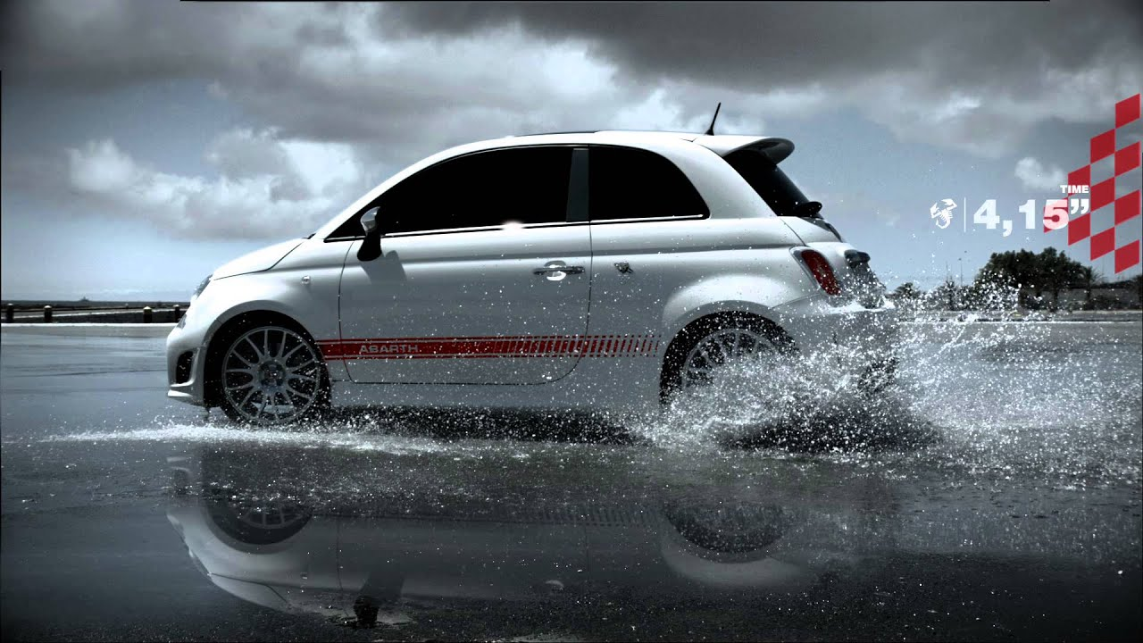 Spot Abarth 595 Quot 50th Anniversary Quot Performance Is A