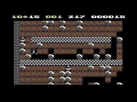 Boulder Dash 2 (C64) Longplay - Part 1/2