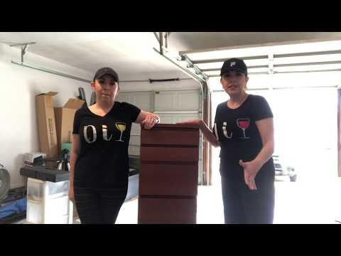 DIY Furniture  Makeover  - Ikea Dresser Transformation