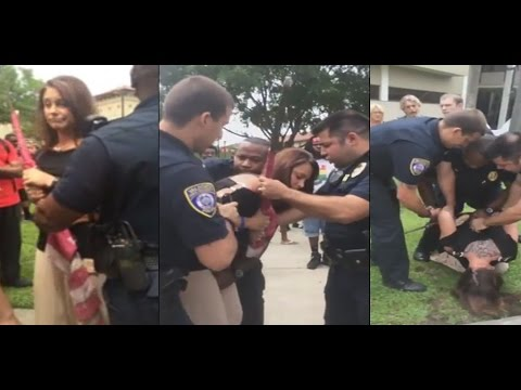 Air Force Veteran Arrested trying to Stop Flag Desecration at Valdosta State University