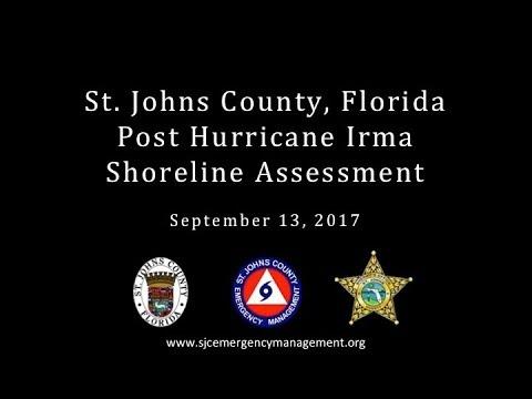 2017 Post Hurricane Irma Shoreline Assessment Video