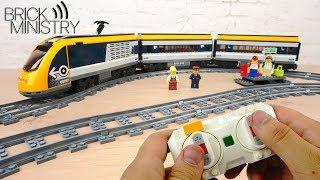 обзор LEGO 60197  Пассажирский Поезд