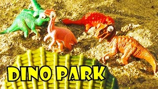 HAPPY BIRTHDAY OURANOSAURUS! | DINO PARK - Dinosaur Fun Facts for Kids