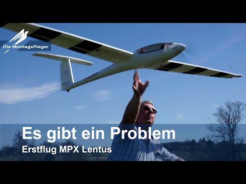 Multiplex Lentus Erstflug