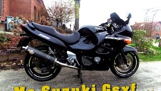 Suzuki Gsxf#Modification FINAL de la F#