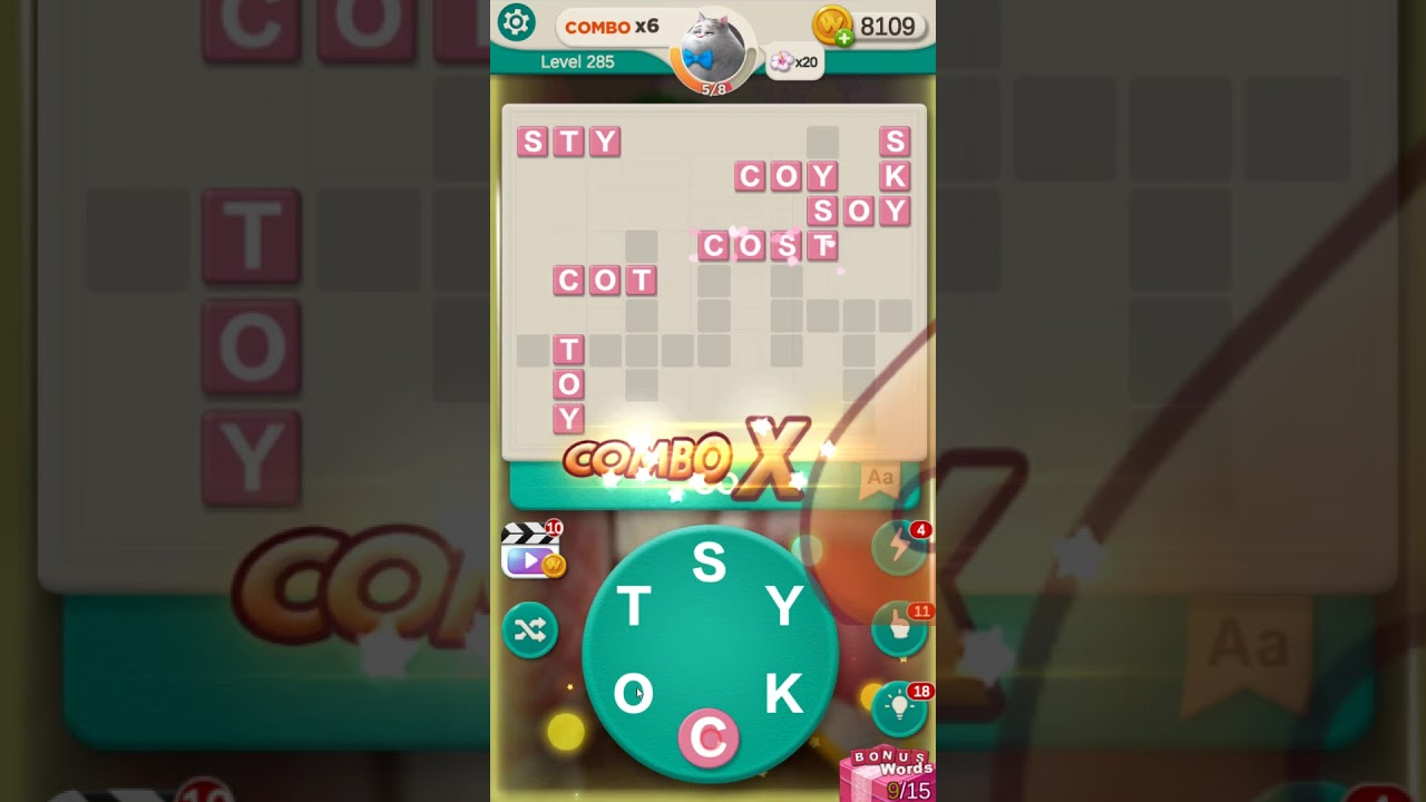 whats the word level 285