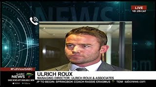 Criminal charges against Gavin Watson: Ulrich Roux