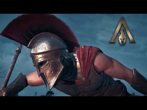 Assassin's Creed Odyssey Gameplay | Spartan Hero Leonidas Intro Combat Fight Scene! Ep. 1 thumbnail