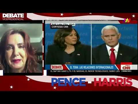 Debate Kamala vs  Pence, 2020