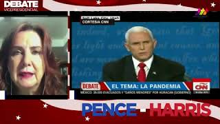Debate Kamala vs  Pence, 2020