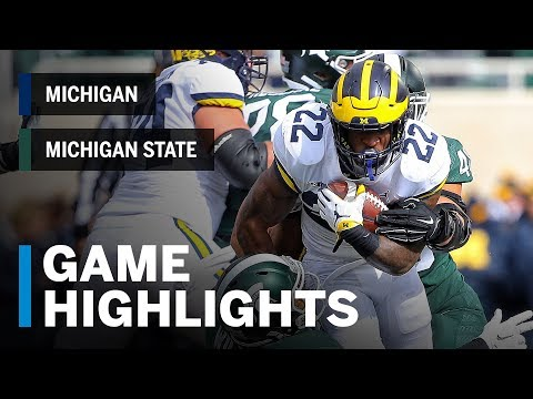 Highlights: Michigan at Michigan State | Big Ten Football