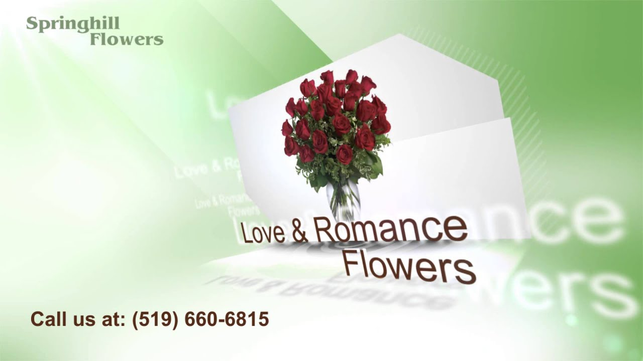 London Ontario Flower Shop Springhill Flowers Youtube