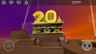 Roblox Goes to Camp at the 20th Century Fox Logo
