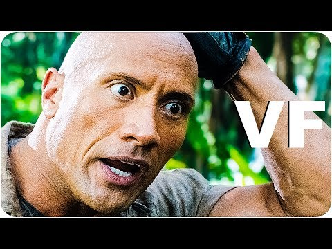 JUMANJI 2 BIENVENUE DANS LA JUNGLE Bande Annonce VF (Finale // 2017) streaming vf