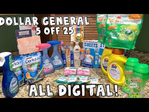 Dollar General Deals! || $5 Off $25 || ALL Digital || Low Out Of Pockets, Cheap & Freebies! || 7/25