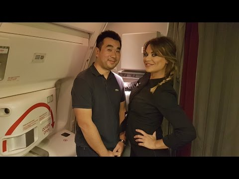 Air France B777-300/ER New Business Class Flight Paris to Dubai