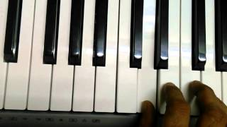 Airtel theme tune on keyboard/piano