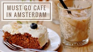 WE FOUND A NICE CAFE IN AMSTERDAM! (+Urdun lesson #5)